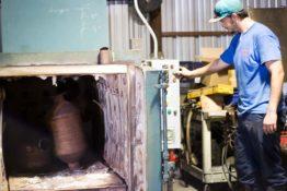 dpf-in-burn-off-oven-don-hart-radiator-repair-service-bryan-texas