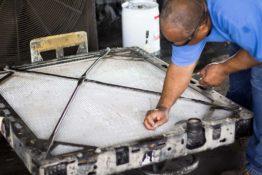 straightening-fins-don-hart-radiator-repair-service-austin-texas