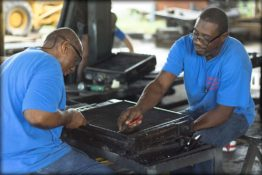 straightening-fins-don-hart-radiator-repair-service-houston-texas